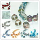 Lovely Round 10pcs 13mm glass crystal charms loose spacer beads color chioce