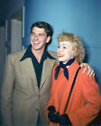 RONALD REAGAN & JANE WYMAN VERY RARE COLOR PHOTO OR POSTER