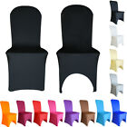 100pcs Spandex Chair Covers Lycra Cover Wedding Banquet Anniversary Party Decor