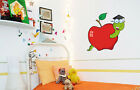 Worm In Animal Baby Boy Girl Nursery Bedroom Wall Decal Sticker Design Art 216FJ