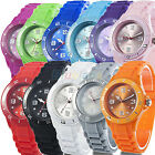 HOT SELLING UNISEX STUNNING COLORFUL JELLY SILICON STRAP CHIC DRESS WRIST WATCH