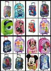 KIDS Character BOYS GIRLS CABIN TROLLEY CASE WHEELED BAG SUITCASE HAND LUGGAGE
