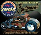 Genuine Speed Equipment Junk Parts Rat Rod Hot Rod Deuce Coupe Pocket Tee Shirt