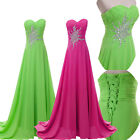 Dreaming Wedding Formal Party Bridesmaid Evening Cocktail Gown Chiffon Dress