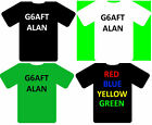 Call-sign & name T Shirt personalised with your name and callsign