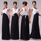 Ladies Long Chiffon Wedding Evening Formal Party Ball Gown Prom Bridesmaid Dress