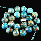 J59311 18mm Variscite ball loose beads 22pcs