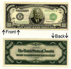 $10000 Ten Thousand Dollars Novelty Bill Notes 1 5 25 50 100 500 or 1000