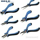 Silverline Mini Plier combination side cutting Long Bent End Cutting needle nose