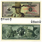 John Wayne One Million Dollars Bill Novelty Notes 1 5 25 50 100 500 or 1000