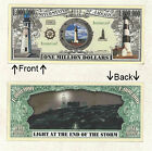 Light House One Million Dollars Novelty Bill Notes 1 5 25 50 100 500 or 1000