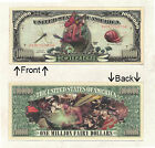 Fairy One Million Dollars Bill Novelty Notes 1 5 25 50 100 500 or 1000