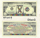 Autism Awareness Defeat Now Bill Novelty Notes 1 5 25 50 100 500 or 1000