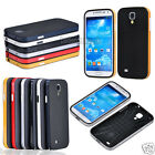 Hybrid Bumper Frame Rubber TPU+PC Back Case Cover For Samsung Galaxy S4 i9500