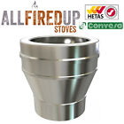 "Convesa 5"" Or 6"" Vitreous To Twin Wall Insulated Flue Pipe Adapter"