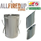 "Convesa 5"" Or 6"" Wall Sleeves For Twin Wall Insulated Flue Pipe"