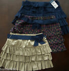 NWT Ralph Lauren Girls 3 Tiered Ruffle Pull On Skirt W/Belt 7 8 10 12 14 16 NEW