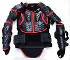 New Outdoor Red Motorcycle Armor Sports Armor Full Body Protection Suit