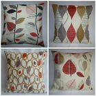 "22"" Cushion Cover Red Pillow Retro Modern 4 Choices Mix Match"