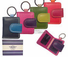 Vitali Luxury Leather Keyring 2 Photo Holder Picture Gift Multi Colour Boxed ID