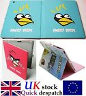 Red Birds & Pig Leather Effect New iPad4 iPad2 iPad3 Case Cover and Flip Stand