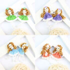 10Pcs Hand Craft Mini Doll Clothing Hap Hair Accessory DIY Applique  #12Colors