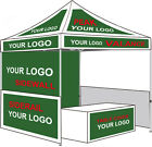 NEW Eurmax 3mx3m Custom printed logo Canopy TRADE SHOW Protable booth Customized