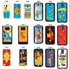 Retro Vintage Superted Bananaman cover case for Samsung Galaxy S2 S3 S4 S5 Mini