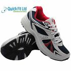 NEW MENS WHITE SPORTS RUNNING GYM JOGGING TRAINERS CASUAL WALKING SHOES 6-13 UK