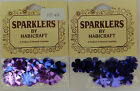 Sparklers By Habi-craft Cards Star Leaf Circle Butterfly Flower Shape Choose Set