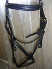 PADDED COMFORT BRIDLE GRACKLE MEXICAN NOSEBAND PONY- EXTRA FULL SIZE