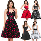PLUS Robe de Pin Up Retro Vintage Rockabilly années 50s 60s polka dot Swing Robe