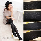 New Women's Winter Thin Skinny Slim Stretch Pantyhose Tights Velvet