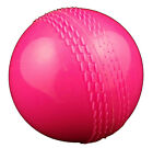 2 x Opttiuuq JaffaBall (Windball) Rubber Cricket Ball - Junior & Senior - PINK