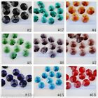 10pcs New Faceted Octagon Chandelier Glass Crystal Charms Spacer Beads 14x14mm