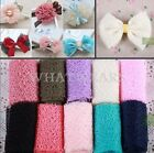 1x Sheer Ribbon Tulle Snow Yarn Hair Bows Ribbon Craft Wedding Decoration GBW