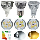 Buy 8 Get 2 Free 4/10/20x 6W GU10 MR16 E27 LED Bulbs Spot Light Warm / Day White