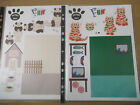 2x A4 Non Die Cut Cardmaking Decoupage Sheet Purrfect Pets Various Designs