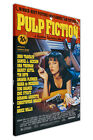 PULP FICTION MOVIE POSTER CANVAS WALL ART PICTURES HOME DECOR PRINTS FILM ART