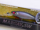 Megabass Japan Jerkbait Minnow Margay SW WH (Heavy Weight) (Various Colors) New