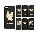 New Deluxe Men Hard Back Mobile Phone Black Skin Case Cover For iPhone 5 5S 5KSX