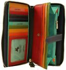 Visconti SP33 Ladies Large Leather Multi Wallet Purse Clutch Card ID Coin Case