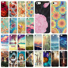 New Various Design pattern Flower Phone Skin Case Cover for IPhone 4 4S 5 5S 5C