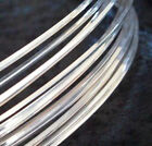 5' Sterling Silver-Filled ROUND Half Hard Wire 14 16 18 20 21 22 24 Gauge GA
