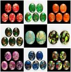 40x30mm Oval Flatback Cabochon CAB Ring Face Variscite Gemstone Wholesale mix