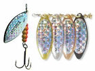 Mepps spinners long rainbo pike lures trout perch car fishing