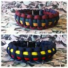 Royal Marines 550 Paracord Survival Bracelet / Dog Collar Military RM