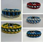 Paracord Bracelet In NFL Team Colours National Football League D-J Handmade