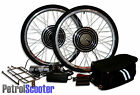 "48V 500W 1000W Electric Bicycle Cycle E Bike 26"" Conversion Kit Hub Motor Geared"