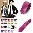 1pc Fashion Mens Women Classic Casual Plain Wedding Party Skinny Necktie Tie New